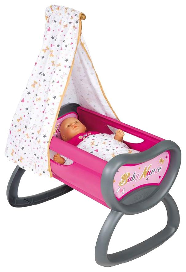 Купить Колыбель для пупса baby nurse, 52x33x76 см, 1+3, Smoby, Транспорт для кукол