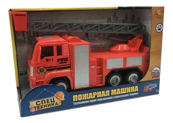 Купить Пожарная, Машина пожарная Dave Toy 1:18, Dave Toys, Спецслужбы