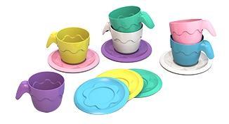Купить ШКД04, Посуда шкода, 6 чашек 6 блюдец, НОРДПЛАСТ, Игрушечная посуда