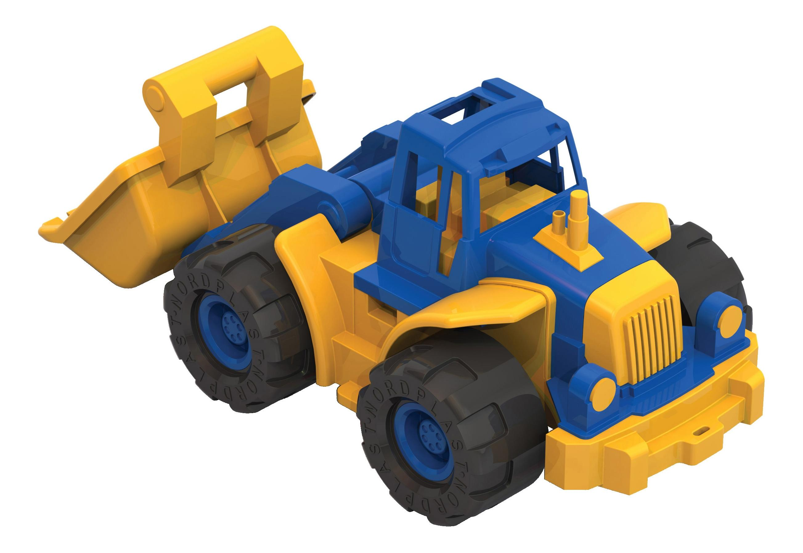 Купить 'Богатырь' с грейдером, Трактор Нордпласт Богатырь с грейдером, в ассортименте, НОРДПЛАСТ,