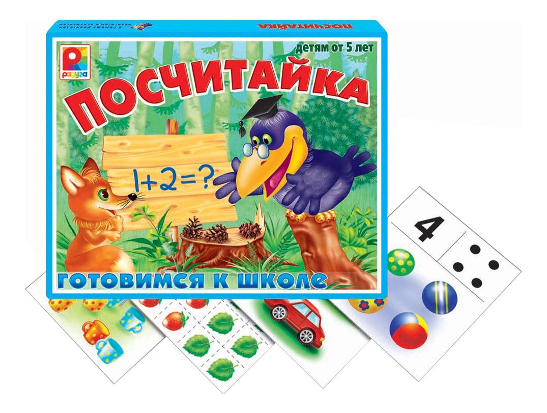 Купить Настольная игра Радуга Посчитай_ка, Семейные настольные игры