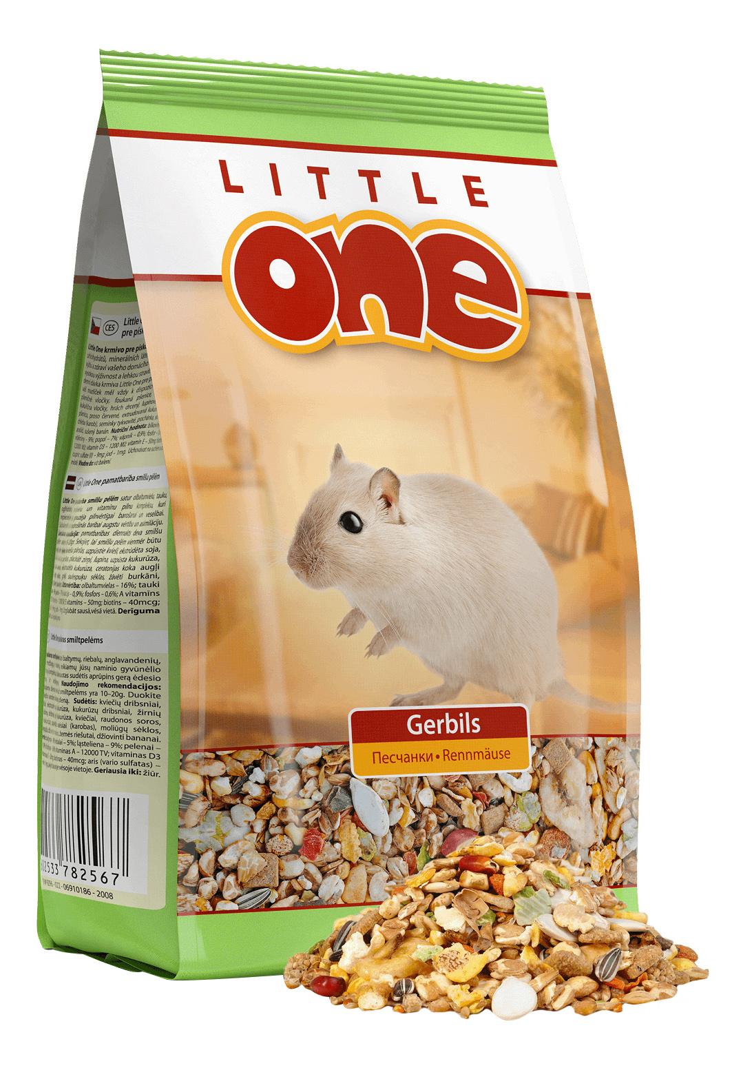 Корм для песчанок Little One Gerbils 0.4 кг 1 шт