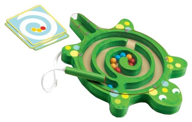 Купить Семейная настольная игра Djeco Лабиринт Черепаха, Магнитные настольные игры