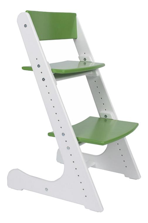Купить Растущий, Стул Конек Горбунек растущий бело-зеленый, Детские стульчики