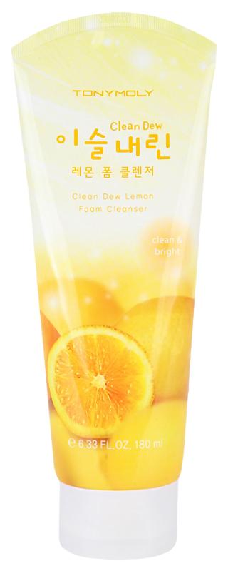 Средство для умывания Tony Moly Clean Dew Lemon Foam Cleanser 180 мл фото