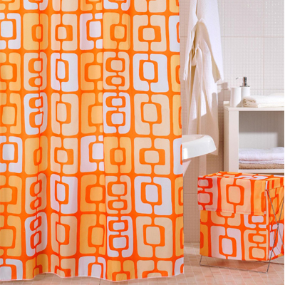 Штора для ванной IDDIS Orange Toffee
