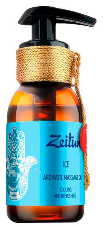 Масло для тела Zeitun Ароматическое Лед с лаймом, лимоном и мятой 100 мл