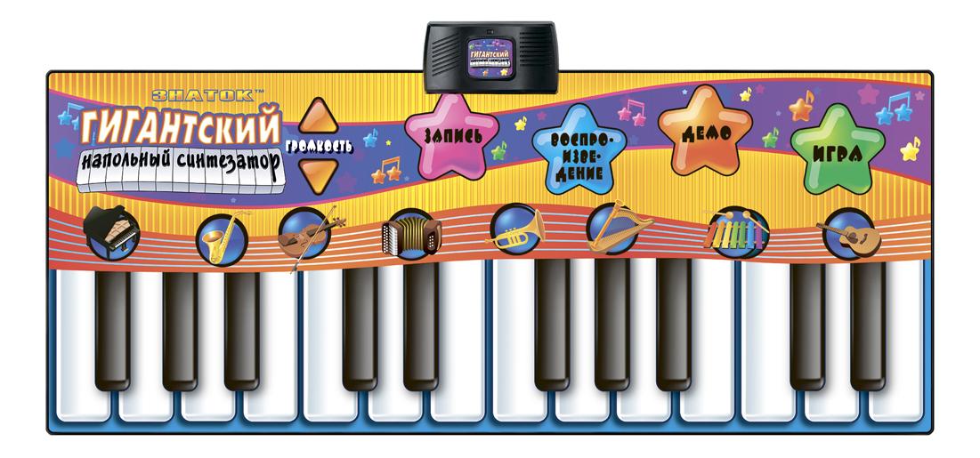 Развивающий коврик Знаток Гигантский напольный синтезатор фото