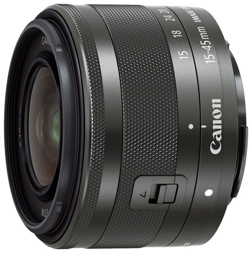 Объектив Canon EF M 15 45mm f/3.5