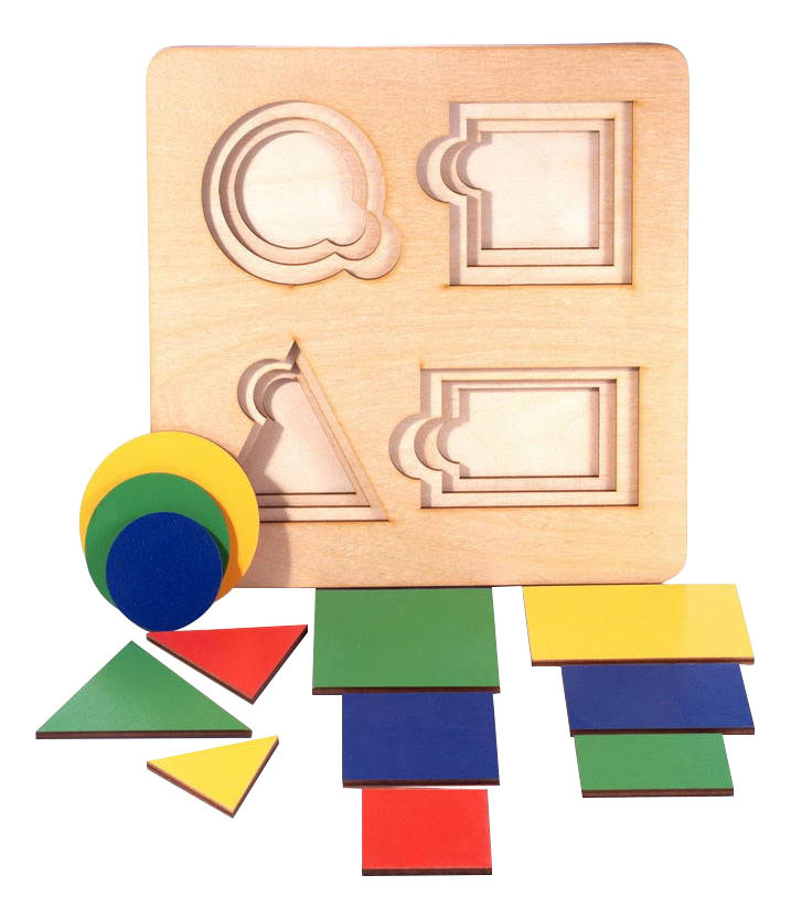 картинка Деревянная игрушка для малышей ТД Бэмби Геометрия от магазина Bebikam.ru