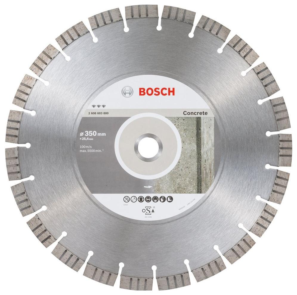 Алмазный диск Bosch Bf Concrete 350-25,4 2608603800
