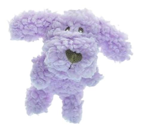 Мягкая игрушка для собак Aromadog Собачка, фиолетовый, 6 см фото