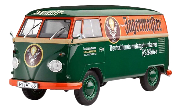 Купить Сборная модель Автомобиль минивэн Volkswagen VW T1 Kastenwagen Revell 67076, Модели для сборки