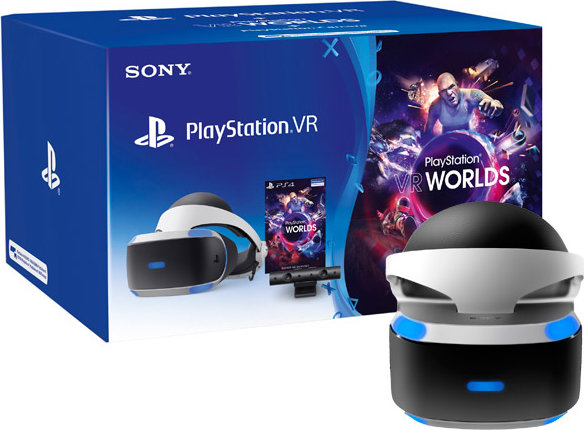 Шлем виртуальной реальности Sony PlayStation VR + VR Worlds + Камера (CUH-ZVR2 ) фото