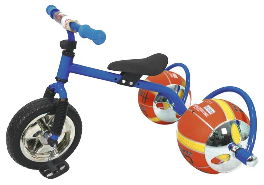 Купить Баскетбайк синий, Велосипед трехколесный Bradex Баскетбайк Синий, Детские трехколесные велосипеды