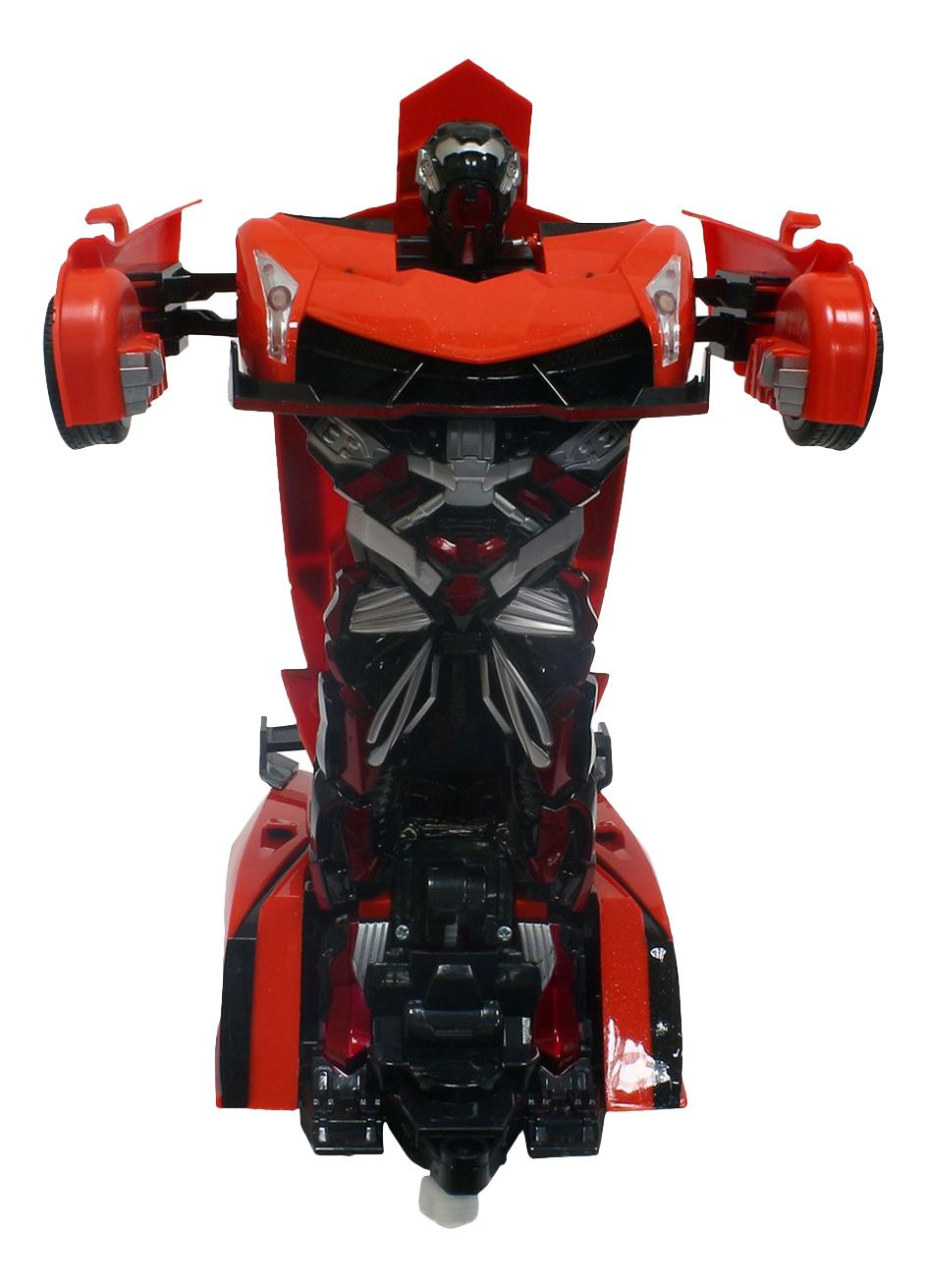 Радиоуправляемая машинка 1TOY Трансформер Спорткар оранжевый
