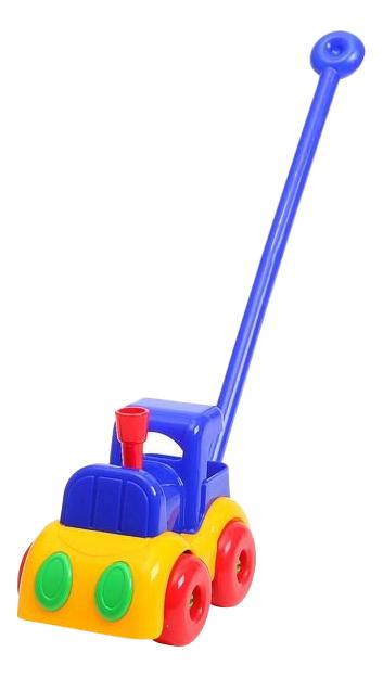Купить Игрушка-каталка Паровозик малышок Плэйдорадо 12015, Каталки детские