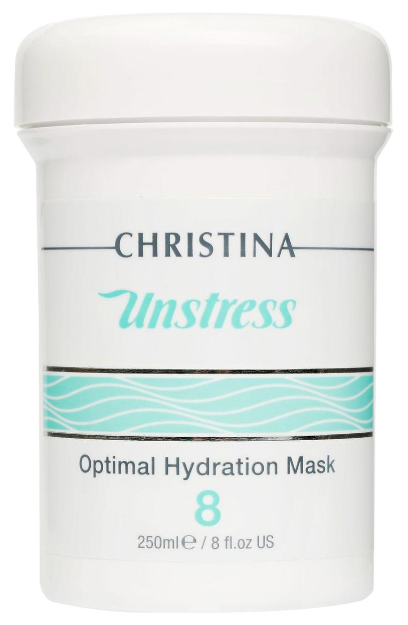 Маска для лица Christina Unstress Optimal Hydration Mask (Step 8) 250 мл фото