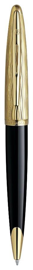 Шариковая ручка Waterman Carene Essential Black GT M S0909810