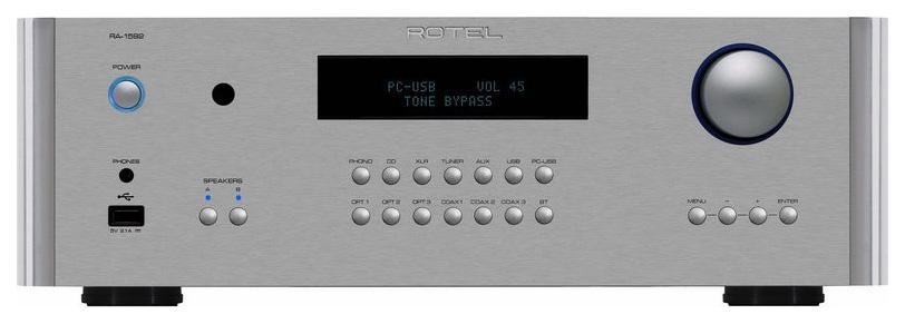 Интегральный усилитель Rotel RA 1592 Silver