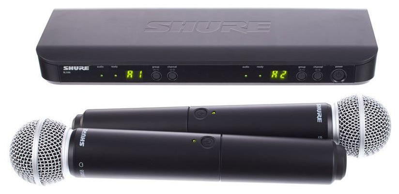Радиосистема Shure BLX288E/SM58 M17 фото