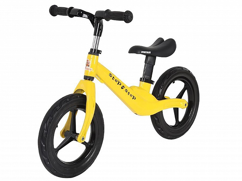 Купить Беговел Sportsbaby Step by Step MS-331 желтый, Беговелы