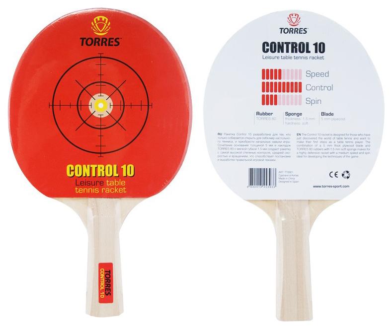 Ракетка для настольного тенниса Torres Control 10 фото