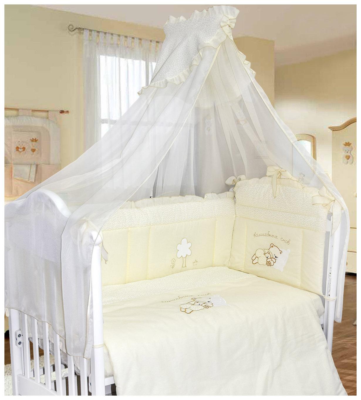 Купить BOMBUS Комплект в кроватку Волшебных снов (цвет: бежевый, 7 предметов) 5493, Комплекты детского постельного белья