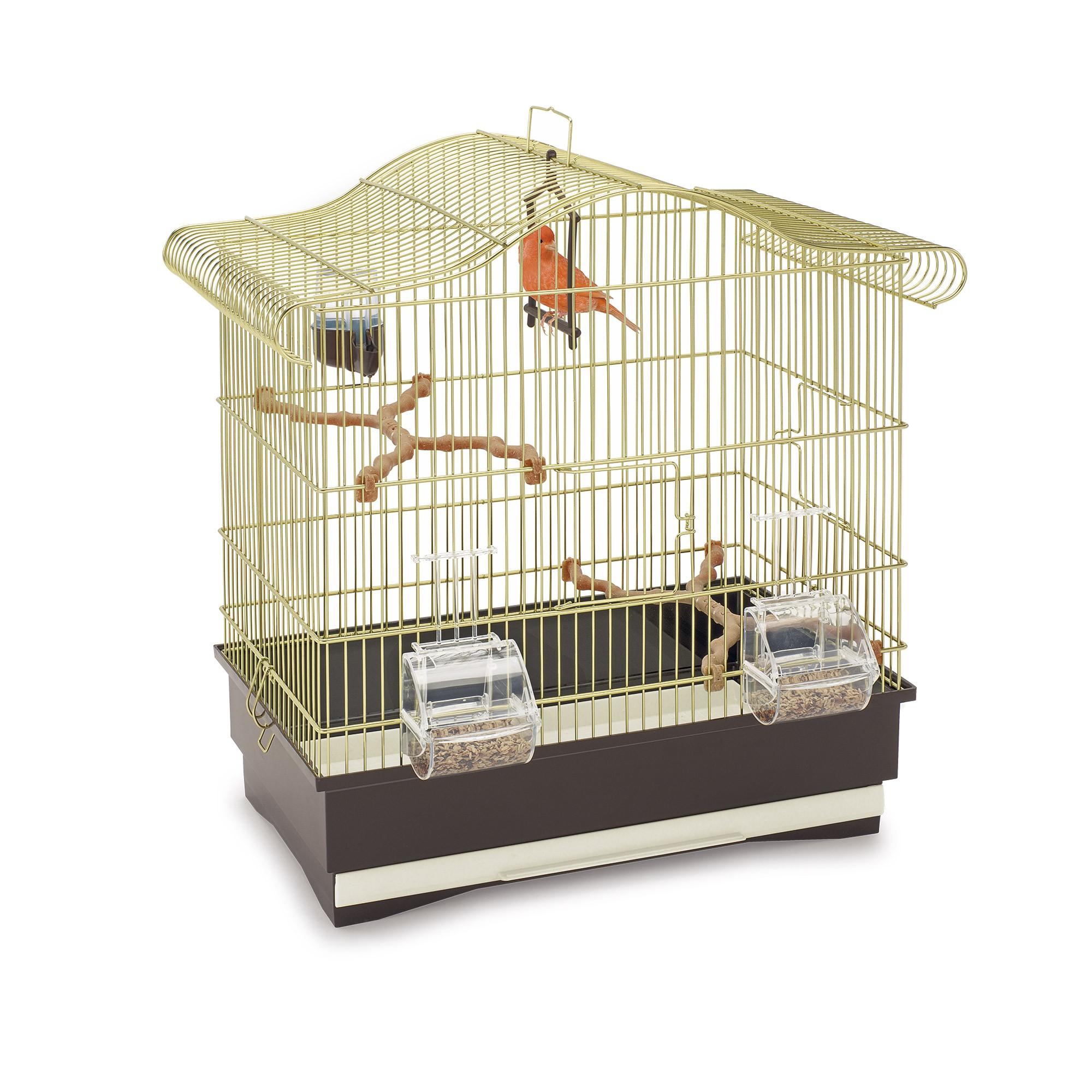 Клетка для птиц IMAC Serena, золотая