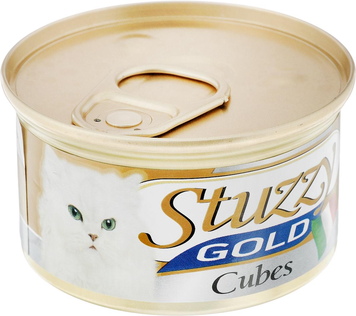 Консервы для кошек Stuzzy GOLD, индейка, 24шт