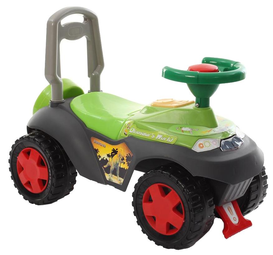 Каталка детская Наша Игрушка Сафари Зеленая фото