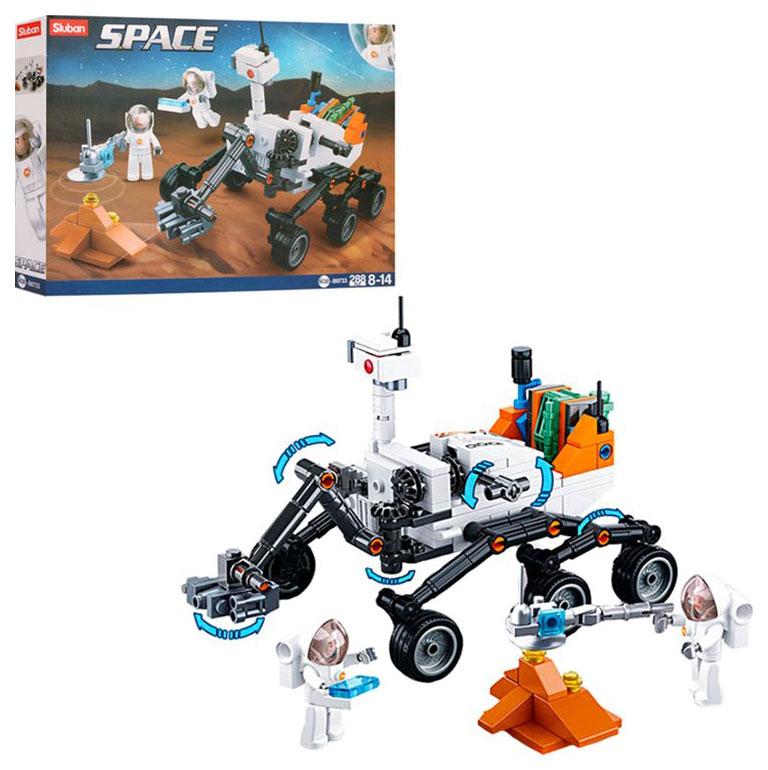 Купить Конструктор пластиковый Sluban Космический марсоход M38B0733,