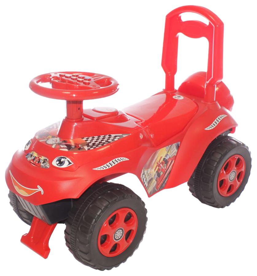 DOLONI Машинка для катания Автошка (цвет: красный)