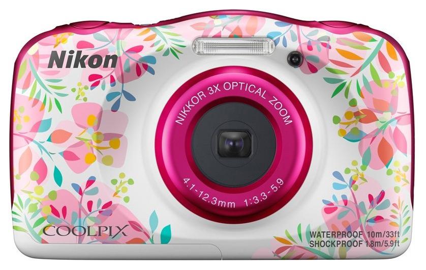 Фотоаппарат цифровой компактный Nikon Coolpix W150 Flower Backpack KIT