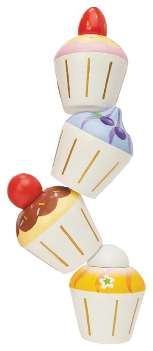 Игрушечная еда Le Toy Van Набор капкейков