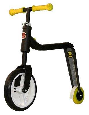 Самокат-беговел трансформер Scoot Ride HighwayFreak черно-желтый