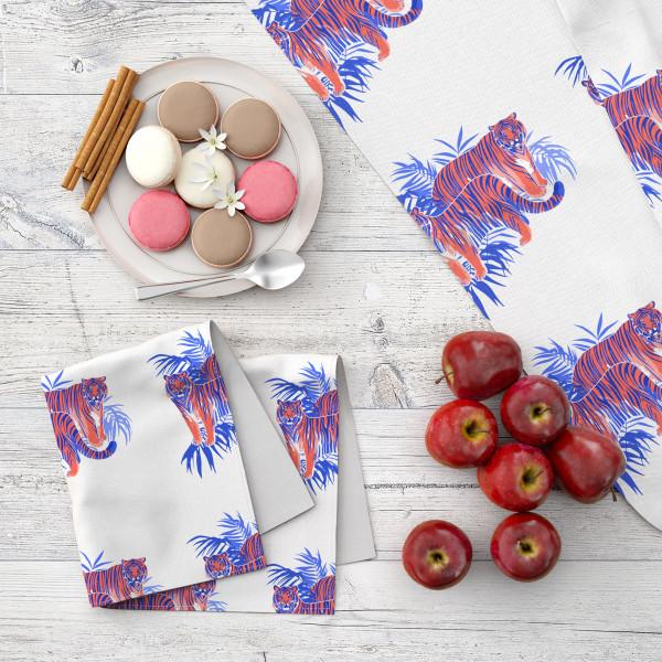 Набор кухонного текстиля MARENGO TEXTILE «Тигры»