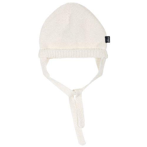 Купить Шапка Chicco для мальчиков и девочек р.4 цвет белый, Детские шапки