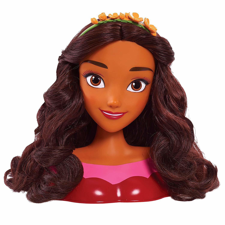 Купить Игровой набор Disney Princess Голова для причесок Елена 87322,