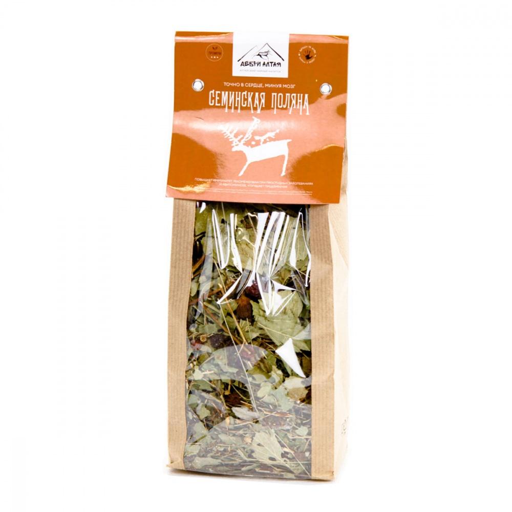 Травяной чай Дебри Алтая Семинская поляна 100 г фото
