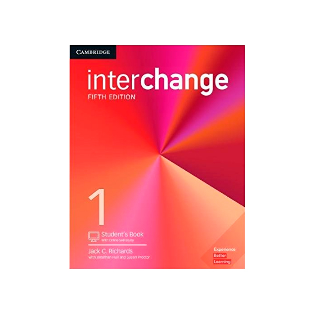 Interchange. Level 1. Student\'S Book With Online Self-Study