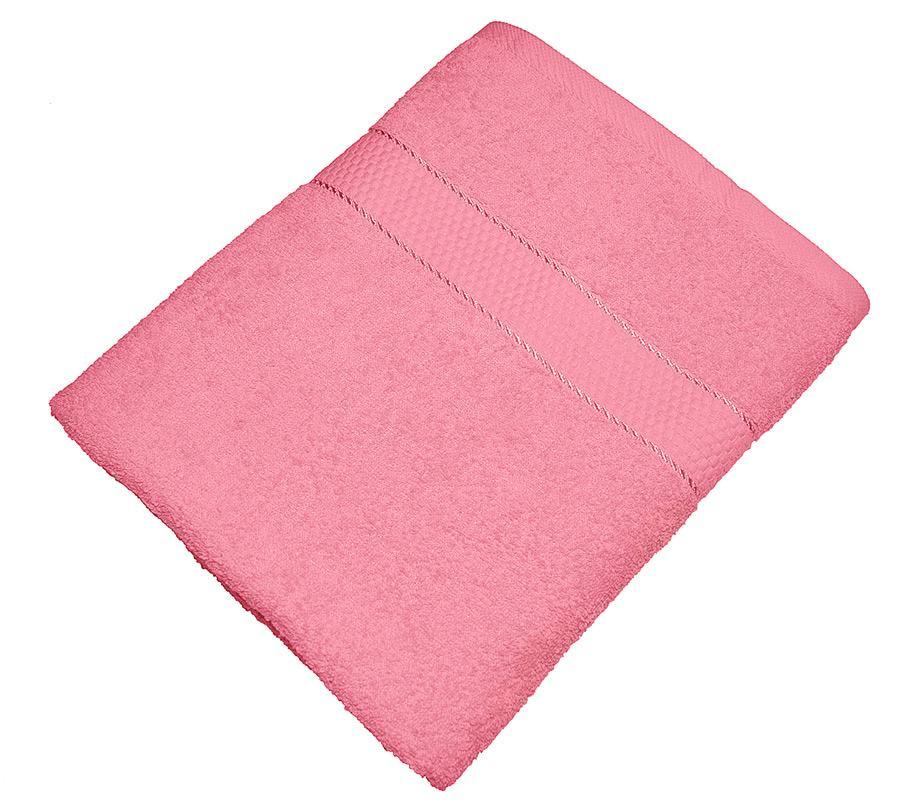 Полотенце Aisha Textile 70х140 см Розовый