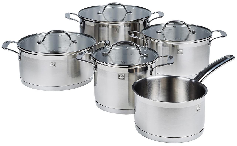 Набор посуды Kuchenland Medium