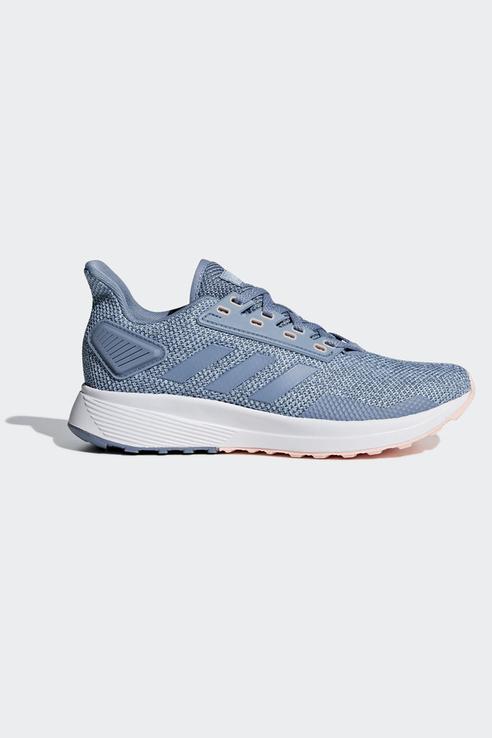 Кроссовки женские Adidas для бега Duramo 9 синие 38,5 RU