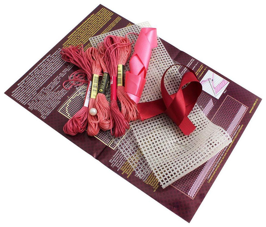 Купить Набор для творчества Danko Toys Embroidery Box, набор 1 EMB-01-01, Рукоделие