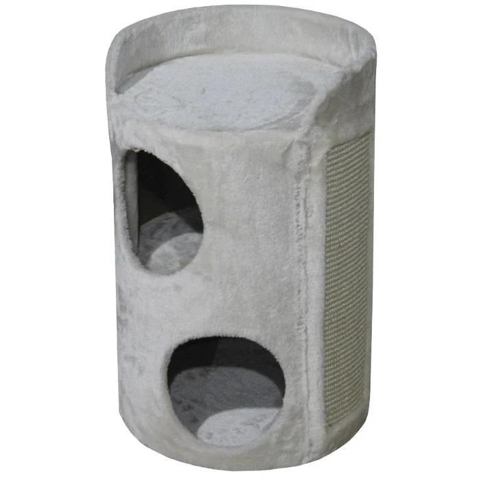 Домик для кошек Nobby Grado, кремовый, 37х37х56