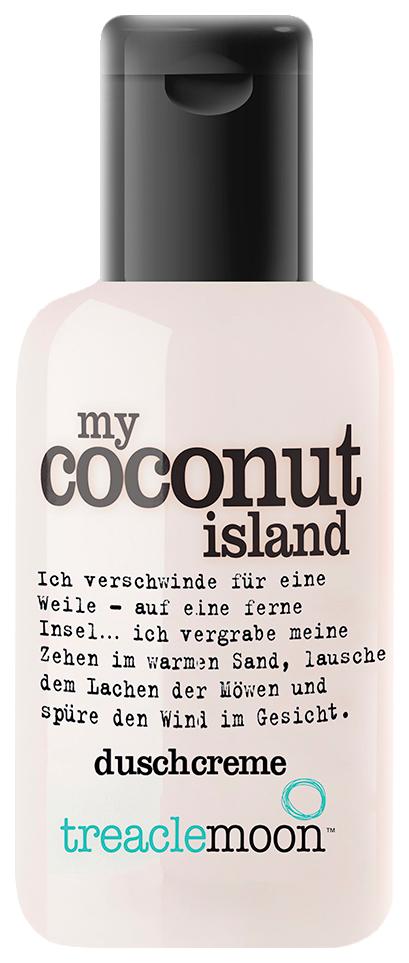 Купить Гель для душа Treaclemoon My coconut island Bath & shower gel 60 мл