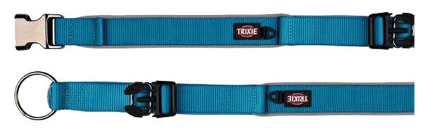 Ошейник для собак широкий, синий (26-33 см/20 мм)