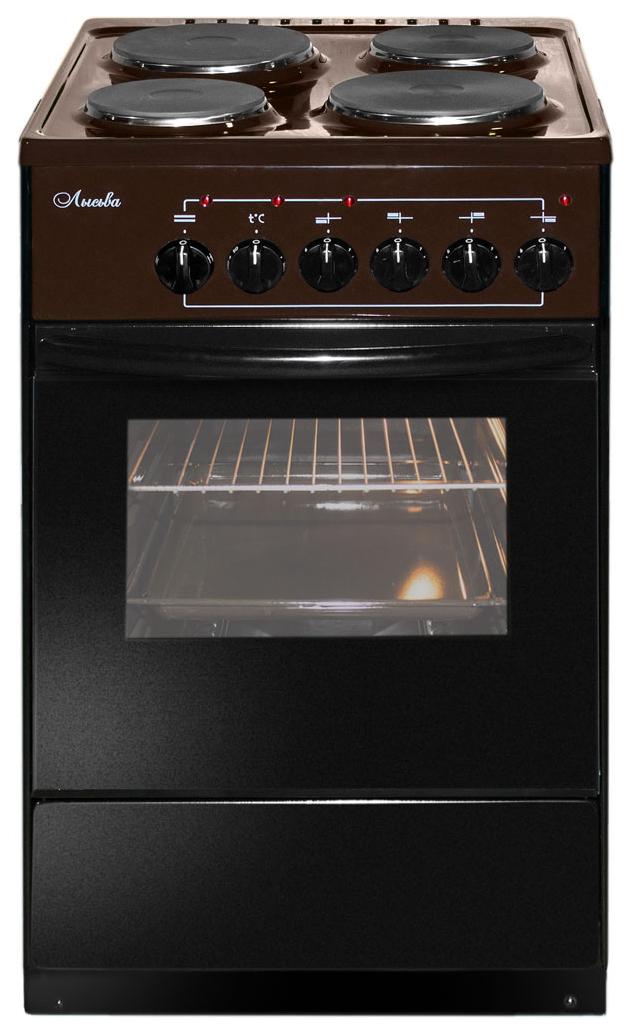Электрическая плита Лысьва ЭП 402 Brown