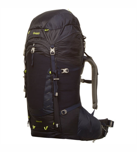 Туристический рюкзак Bergans Trolhetta 75 л темно синий